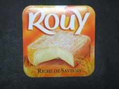Etiquette Fromage ROUY Riche De Saveurs - Formaggio