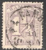 1¼ S. MiNr  8a - Hamburg