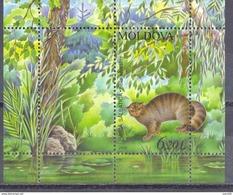 2006.Moldova, Red Book, Animals, S/s, Mint/** - Moldavia