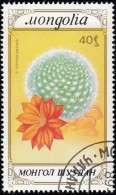 MONGOLIA - Scott #1745 Tephracanthus / Used Stamp - Cactusses