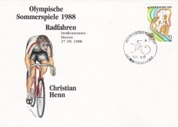 Corea Cover 1988 Seoul Olympic Games (DD9-21) - Ete 1988: Séoul