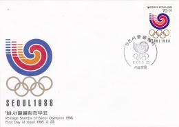 Corea Cover 1988 Seoul Olympic Games (DD9-21) - Estate 1988: Seul
