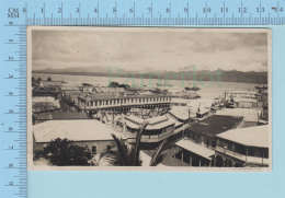 Fidji - Fidji  Harbour , RPPC , Postmark  GPO Suva 1923 Fiji + Stamp - Fidji