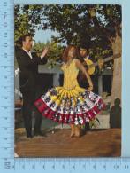 Danseuse Espagnol  - Broderie Vetement Haut De Corp Et Tissu Payette Pour La Robe - Brodées