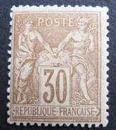 LOT R1597/37 - SAGE Type II N°80 NEUF* - 1876-1898 Sage (Type II)