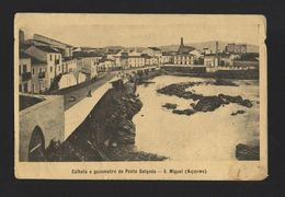 AZORES Postcard 1910 Years SÃO MIGUEL ST. MICHAEL PONTA DELGADA PORTUGAL Z1 - Postcards
