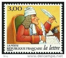 N° 3154  Les Journées De La Lettre, Faciale 3,00F - France