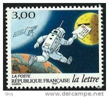 N° 3155  Les Journées De La Lettre, Faciale 3,00F - France