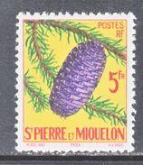 ST.  PIERRE & MIQUELON  357   *  FLORA  PINE  CONE - St.Pierre & Miquelon