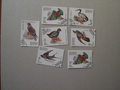 MALAGASY  USED STAMPS BIRD BIRDS - Oiseaux
