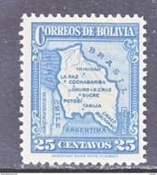 Bolivia 227    **    MAP - Bolivia