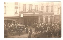 CPA Originele Fotokaart / Carte Photo Originale - Begrafenis / Funerailles - Pub. Wielemans, Diekirch / Crédit Anversois - Anonieme Personen