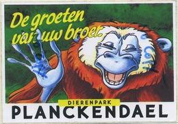 Mechelen-Muizen :  Dierenpark Planckendael ( ZOO Antwerpen )  :  STICKER    ( Format 15  X 10.5 Cm ) - Belgique