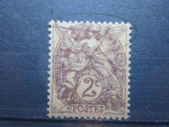VEND BEAU TIMBRE DE FRANCE N° 108d , XX !!! - 1900-29 Blanc