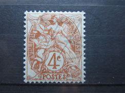 VEND BEAU TIMBRE DE FRANCE N° 110 , XX !!! (b) - 1900-29 Blanc