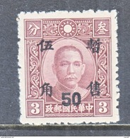 JAPANESE  OCCUP   SHANGHAI-NANKING 9 N 8   ** - 1943-45 Shanghai & Nanjing