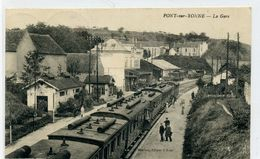 89 - PONT SUR YONNE - La Gare; - Pont Sur Yonne