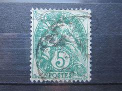 VEND BEAU TIMBRE DE FRANCE N° 111 IIB !!! - 1900-29 Blanc