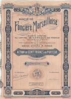13-FONCIERE MARSEILLAISE. PARIS Et LYON - Aandelen