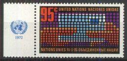 UNO NEW YORK 1972 Mi-Nr. 242 ** MNH - New York -  VN Hauptquartier