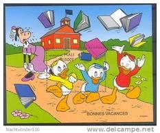 Nct037 WALT DISNEY SCHOOLVAKANTIE CLARABELLA SCHOOL IS OUT BOOKS BONNES VACANCES QWMA 1997 PF/MNH - Disney
