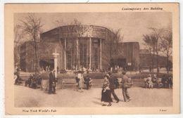 NEW YORK World's Fair - Contemporary Arts Building - Expositions