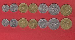 Afrique Du Sud  / Lot De 7 Monnaies - Afrique Du Sud