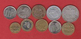 Monaco   / Lot De 10 Monnaies - Non Classés