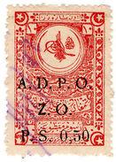 (I.B) Palestine Revenue : Ottoman Public Debt PS 0.50 On 10pa (ADPO) - Palestine
