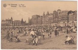 Ostende -  La Plage  - Ostend  - The Sands  -  Belgique/Belgie - Oostende