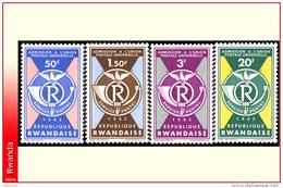 Rwanda 0037/40**  UPU  MNH - Rwanda