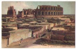 (Tunisie) 300, El Djem, LL Colorisée 1, Le Colisée - Tunisie