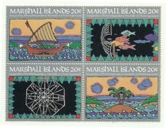 1984 - Marshall 41/44 Indipendenza Postale, - Marshall