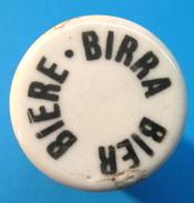 BOUCHON EN PORCELAINE BIERE BIRRA BIER - Beer