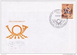 60006aa - 1 - Enveloppe FDC - Cs - Hk 2350 - Liaison Postale Européenne Innsbruck-Malines - Allemagne - FDC