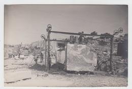 PHOTO ANCIENNE ORIGINALE 17X12 / ALGERIE - FILFILA - LA CARRIERE - Bateaux