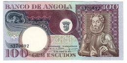 Angola 100 Escudos 1973 UNC  .C. - Angola