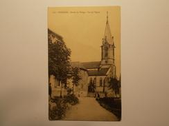 Carte Postale -  RODEREN (68) - Entree Du Village - Vue De L'Eglise (1935) - Frankreich