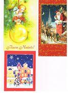 ITALIA    -  BUON NATALE   (MERRY CHRISTMAS),     LOT OF 3 - MINT - Noël