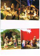 ITALIA    -  BUON NATALE, PRESEPE   (MERRY CHRISTMAS), CRIB   LOT OF 5 - MINT - Altri