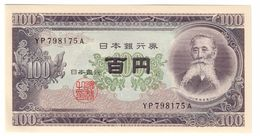 Japan 100 Yen 1953 UNC  .C. - Giappone