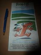 1990 Bison-Futé ---> CARTE-CONSEIL Des Itinéraires à La Carte - Vieux Papiers