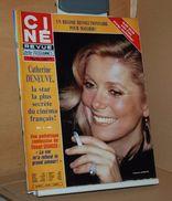 Ciné Revue 31 30/7/1981 Deneuve, Stewart Granger, Theda Bara, Lartigau, Marie-hélène Breillat Etc - Cine