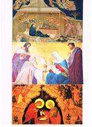 ITALIA    -  BUON NATALE,   (MERRY CHRISTMAS),    LOT OF 3 - MINT - Noël