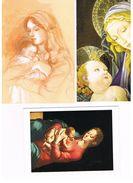 ITALIA    -  LA VERGINE CON IL BAMBINO   (VIRGIN AND CHILD),    LOT OF 5 - MINT - Vergine Maria E Madonne