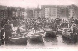 Inondations Paris (Janvier 1910) - Arrivée Des Matelots (LL N°245) - Überschwemmung 1910