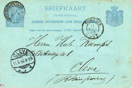 Bk G30 's-Hertogenbosch Via Nijmegen Naar Cleve - Material Postal