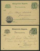BAYERN 1890-1902, 4 Eigenhändig Geschriebene Karten Bzw. Kartenbriefe Der Bayerischen Luftfahrtpioniere: Carl Ritter Von - Bavaria