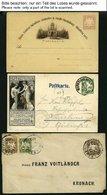 BAYERN 1874-1920, Partie Von 175 Ganzsachen, Ungebraucht Und Gebraucht, Auch Einige Bessere, U.a. P 18S (3x Ungebraucht) - Bavaria