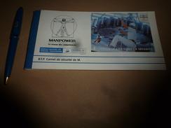 1998 Plaquette Publicitaire MANPOWER Le Réseau Des Compétences - Werbung